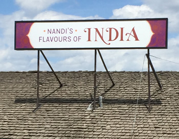 Flavours of India fascia sign thumbnail