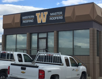 Western Roofing fascia sign thumbnail