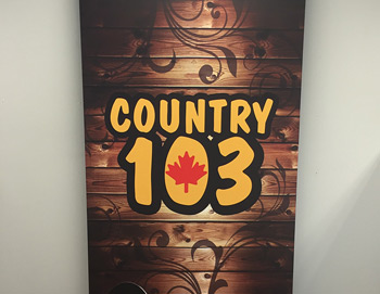 Country 103 pull up banner thumbnail